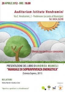 Volantino Manuale di sopravvivenza energetica - formato immagine