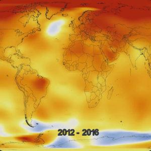 Cambiamento climatico: 2012-2016