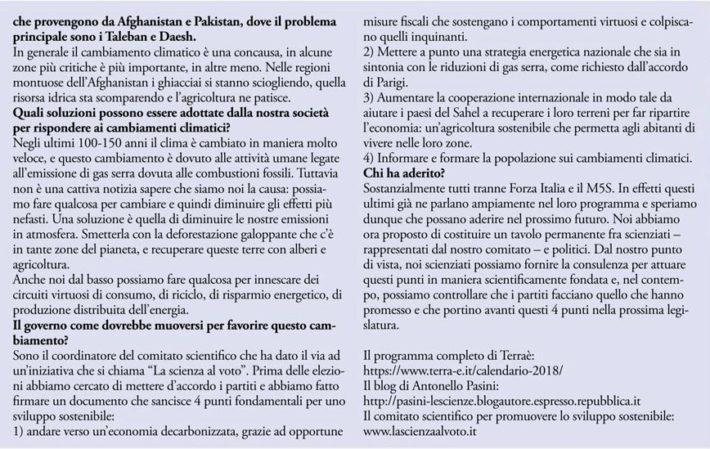 Intervista a Antonello Pasini