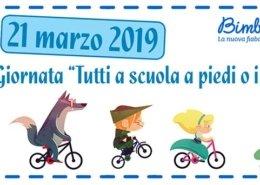 21 marzo a scuola a piedi o in bicicletta