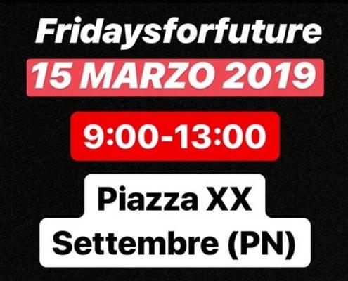 Fridays for Future Pordenone 15 marzo