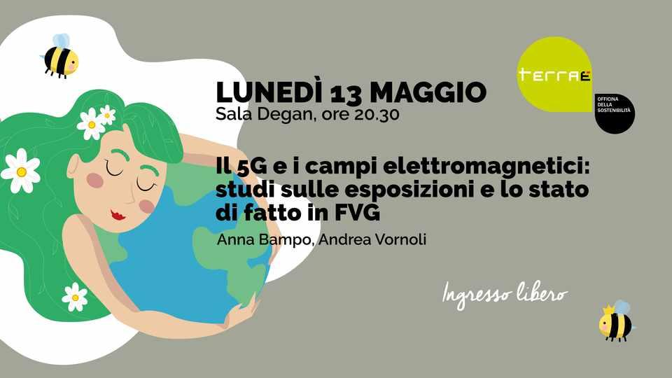 Il 5G e i campi elettromagnetici in Friuli Venezia Giulia